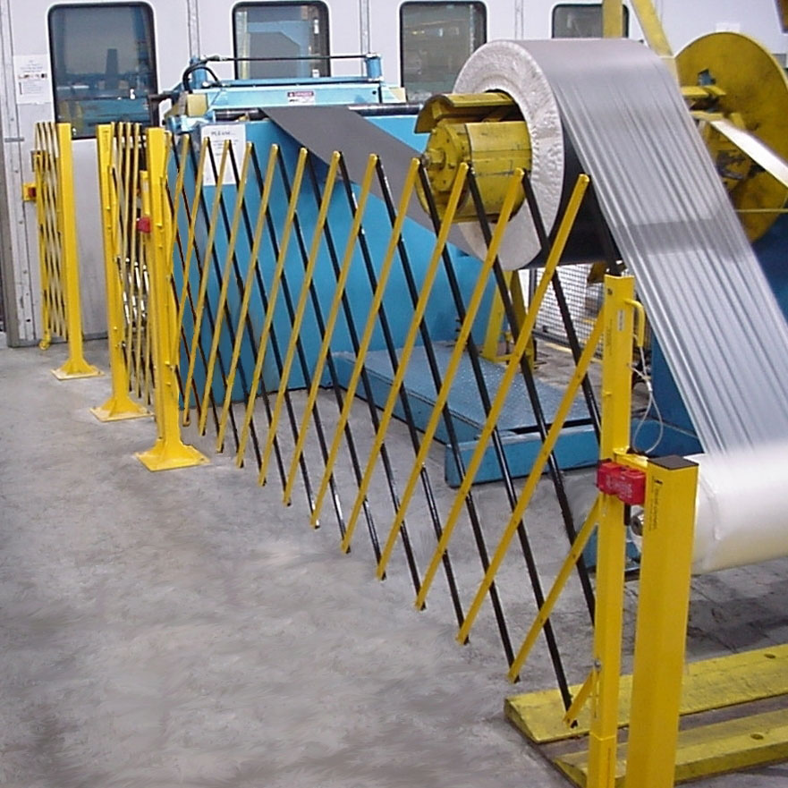 barrier moving machine